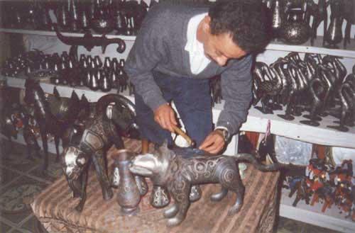 meknes wyroby ze stali damasceńskiej