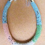 naszyjnik z koralików toho ręcznie robiona biżuteria