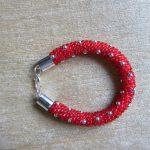 bransoletka z koralików toho ręcznie robiona biżuteria