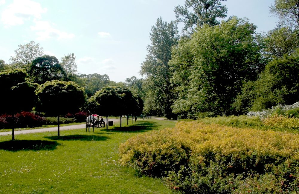 Park Leśnika warszawa