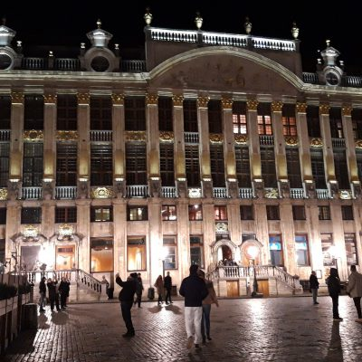 Zwiedzanie Brukseli
